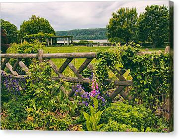 The Rustic Fence Canvas Print