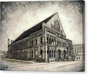 The Ryman Canvas Print by Janet King