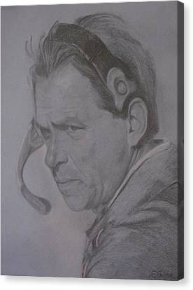The Saban Look Canvas Print by Sheila Gunter