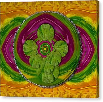 The Sacred Mandala Canvas Print
