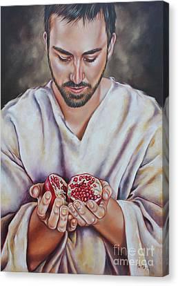 The Sacrifice Of Jesus Canvas Print by Ilse Kleyn