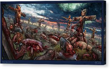 The Sacrifice Canvas Print by Tony Koehl