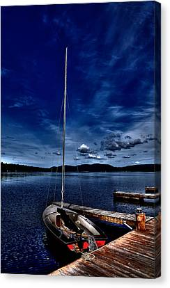 The Sailboat Canvas Print by David Patterson