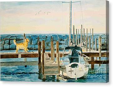 The Sailmate Canvas Print