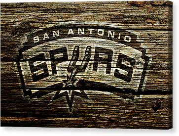 All Star Game Canvas Print - The San Antonio Spurs 2a by Brian Reaves