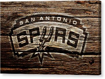 All Star Game Canvas Print - The San Antonio Spurs 2e by Brian Reaves