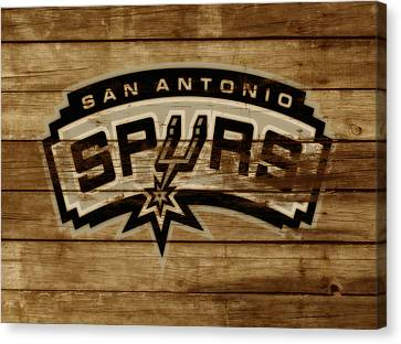 All Star Game Canvas Print - The San Antonio Spurs 3c by Brian Reaves