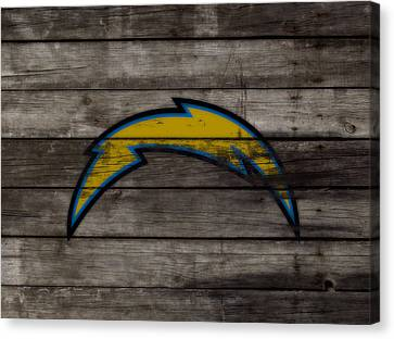 The San Diego Chargers 3b        Canvas Print by Brian Reaves