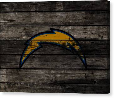 The San Diego Chargers 3c        Canvas Print by Brian Reaves