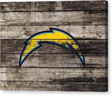 The San Diego Chargers 3j        Canvas Print by Brian Reaves