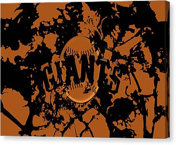 The San Francisco Giants 1b Canvas Print