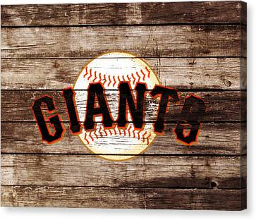 Baseball Park Canvas Print - The San Francisco Giants 3e   by Brian Reaves