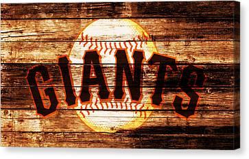 The San Francisco Giants 4b         Canvas Print