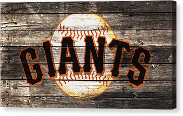 Baseball Park Canvas Print - The San Francisco Giants W1 by Brian Reaves