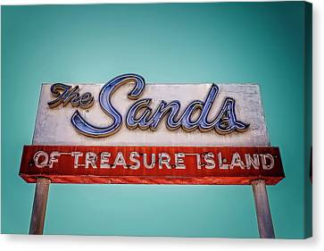 The Sands Canvas Print