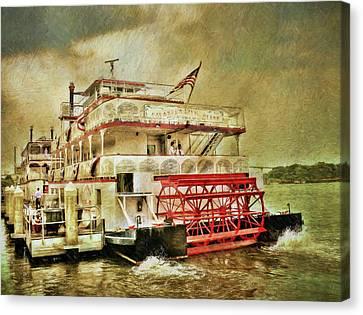 The Savannah River Queen Canvas Print