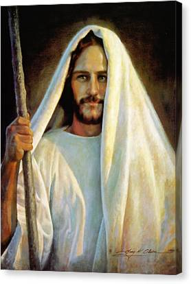 Robes Canvas Print - The Savior by Greg Olsen