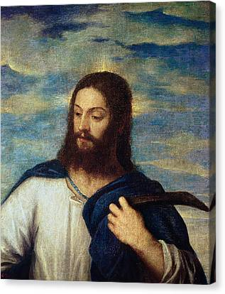 The Savior Canvas Print by Titian