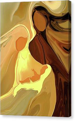 The Saviour Is Born Canvas Print