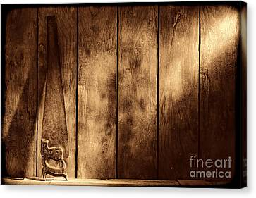 The Saw Canvas Print by American West Legend By Olivier Le Queinec