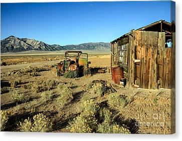 The Schellbourne Station Canvas Print by Robert Bales