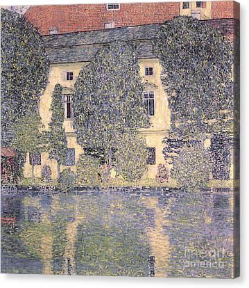 Dgt Canvas Print - The Schloss Kammer On The Attersee IIi by Gustav Klimt