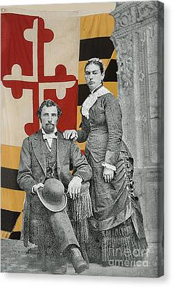 The Schneiders Of Baltimore Canvas Print by Jost Houk