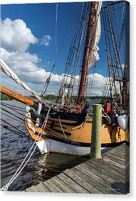 The Schooner Sultana Canvas Print by Brian Wallace