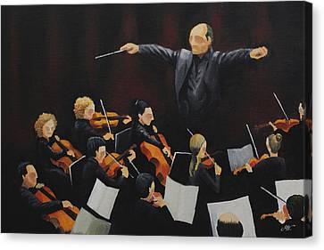 The Score Canvas Print