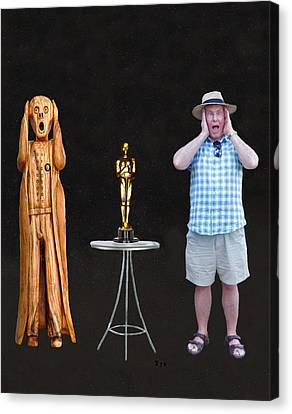 The Scream World Tour Oscars With Peter Beddoes Canvas Print