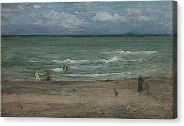 The Sea Canvas Print by James Abbott McNeill Whistler