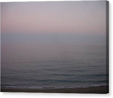 The Sea Oh The Sea Canvas Print by Roger Cummiskey