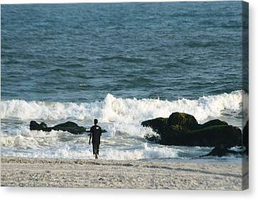 Canvas Print - The Sea  by Paul SEQUENCE Ferguson             sequence dot net