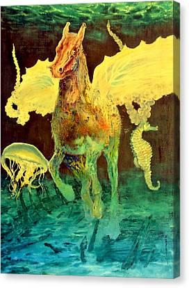The Seahorse Canvas Print by Henryk Gorecki