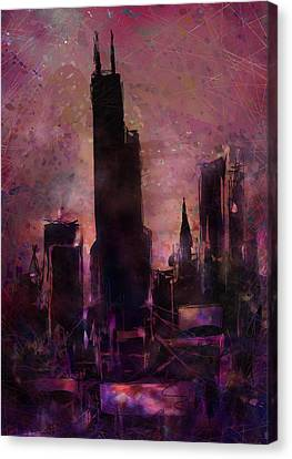 The Sears Tower Canvas Print by Rachel Christine Nowicki