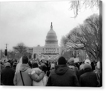 The Second Inauguration Of President Barack Obama Canvas Print