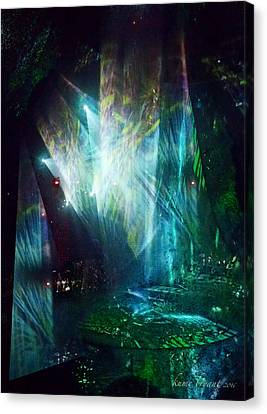 The Second Show Canvas Print by Kume Bryant