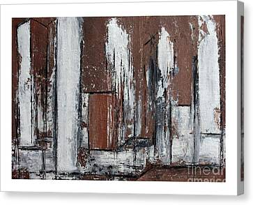 The Second View Canvas Print by Karin Amtmann