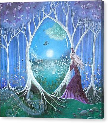 The Secret Garden Canvas Print by Amanda Clark