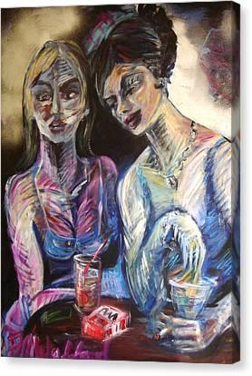 The Secret Canvas Print by Jenni Walford