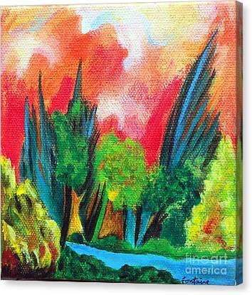 The Secret Stream Canvas Print