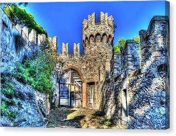 The Senator Castle - Il Castello Del Senatore Canvas Print