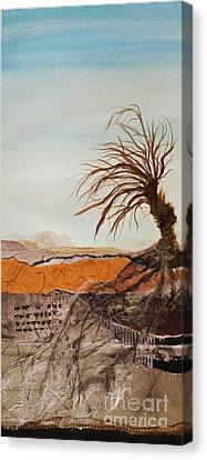 Bare Trees Canvas Print - The Sentinel by Sharon Eng