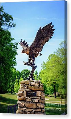 Canvas Print - The Sentry At Honor Heights Park by Tamyra Ayles