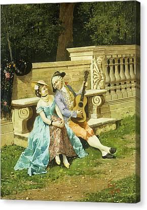 The Serenade Canvas Print by Filippo Indoni