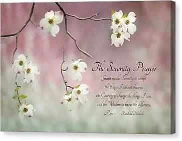 The Serenity Prayer Canvas Print by Lori Deiter