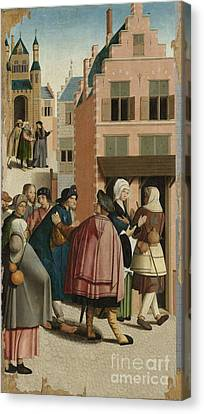 The Seven Works Of Mercy Canvas Print by Celestial Images