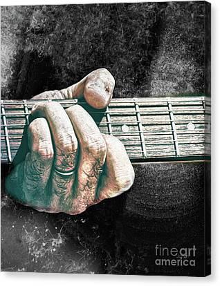The Seventh Chord  Canvas Print by Steven Digman