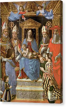 The Sforza Altarpiece Canvas Print