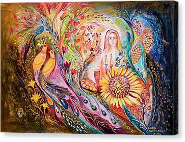 The Shabbat Queen Canvas Print by Elena Kotliarker